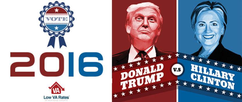 Donald Trump vs. Hillary Clinton Infographic